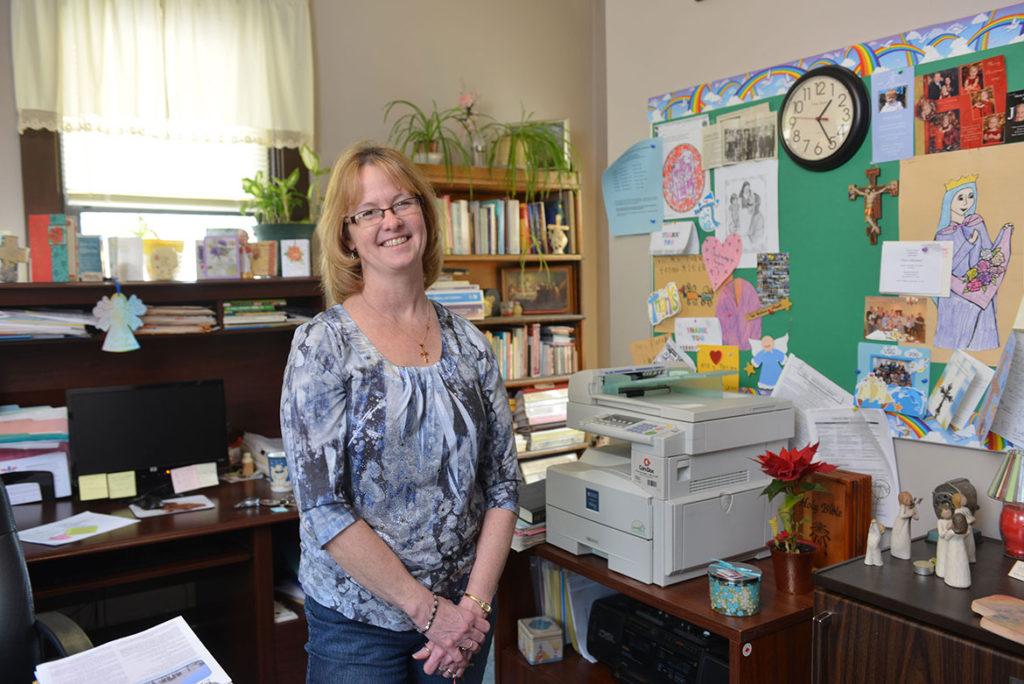 Christine Patsch, St. Cecilia Parish - Photo by Jim Judkis