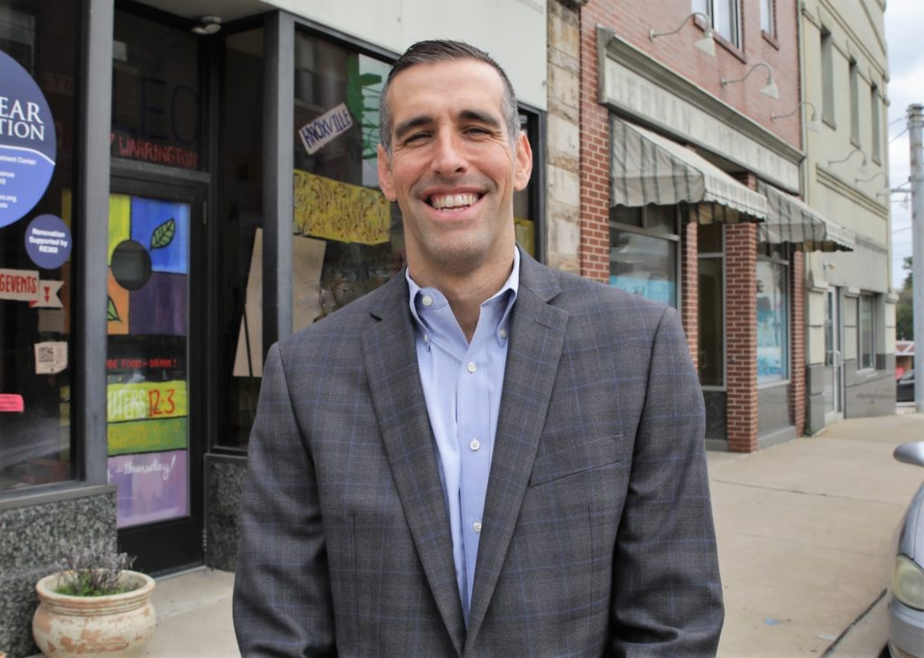 Joe Calloway is working to rebuild the Pittsburgh neighborhood where he grew up - Photo courtesy of RE 360 Real Estate